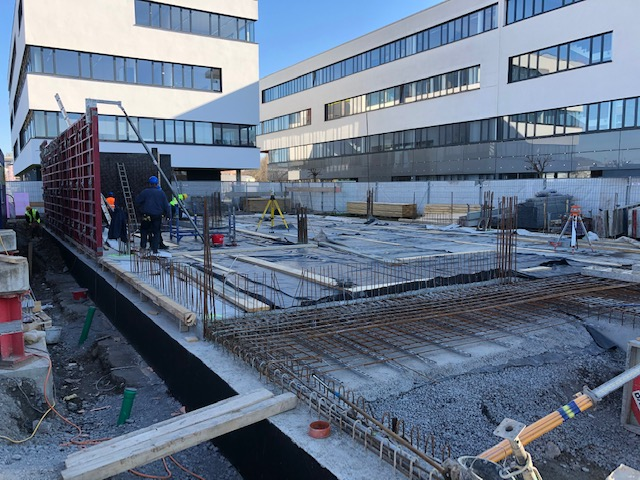 Augenärzte Heilbronn - Baustelle