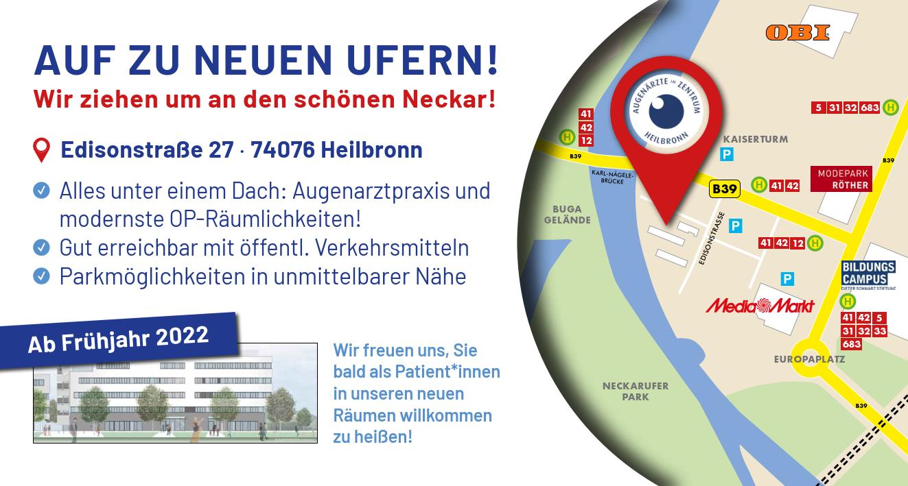 Augenarztpraxis Heilbronn - unsere neue Praxis