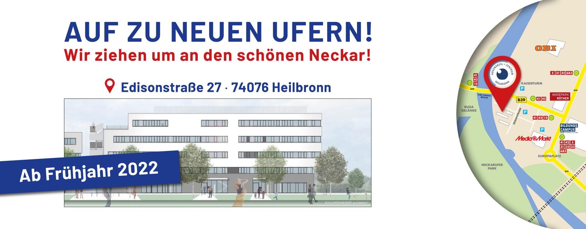 Augenärzte im Zentrum Heilbronn - Unsere neue Praxis